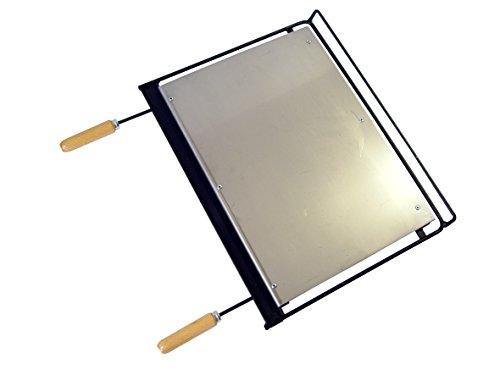 Imex El Zorro 71665 - Plancha barbacoa inox, 58 x 40 cm,...