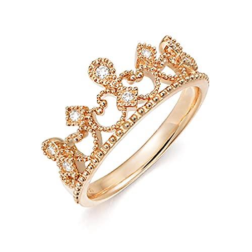 Anillos para mujeres corona forma anillo niñas accesorios anillo joyería