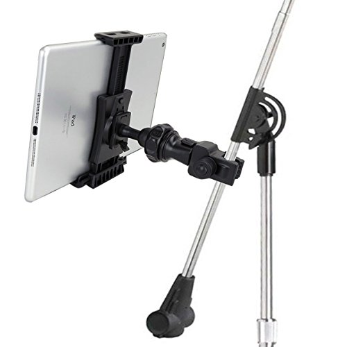 AccessoryBasics EasyAdjust cymbal Microphone Mic Stand Tablet Mount