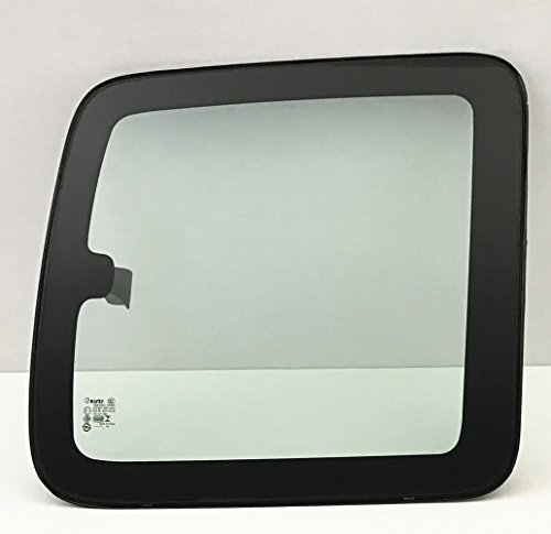 NAGD Movable Passenger Right Side Rear Quarter Window Quarter Glass Compatible with Chevrolet Silverado 1999-2006 2 Door Extended Cab Pickup Models with Frame & Latch