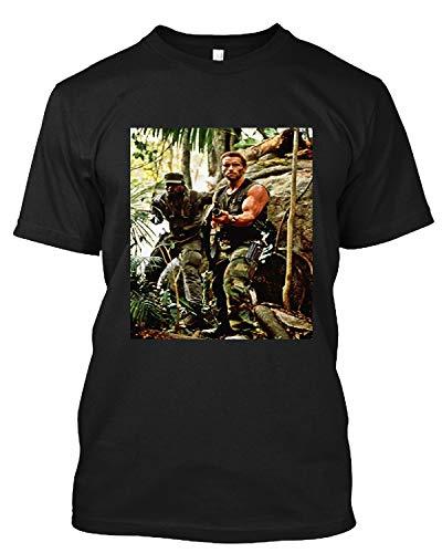 #Carl #Weathers #Rocky #Rocky #Iv Predator Happy Gilmoregraph Full Body W/Arnold Schwarzenegg T Shirt Gift Tee for Men Women Black