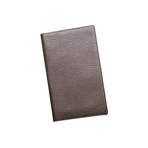 SFF Journals Notebook A6 Binder Business Journal Book Leather Writing Refillable 6 Ring Notepads Gift for Your Friends Student Notebook (Color : B)