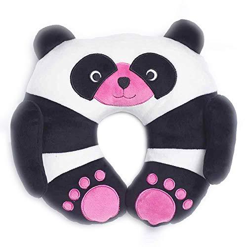 Travel Blue Kinder-Nackenkissen 284 Chi Chi der Panda Reisekissen Flauschiges Reisezubehör für den perfekten Schlaf bequem & erholsam in den Urlaub