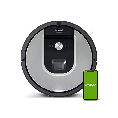 Preisvergleich Produktbild iRobot Roomba 971 Saugroboter mit starker Saugkraft,  3-stufigem Reinigungssystem,  Raumkartierung,  Zwei Multibodenbürsten,  Kompatibel mit der Imprint Link Technologie,  Ideal für Haustiere
