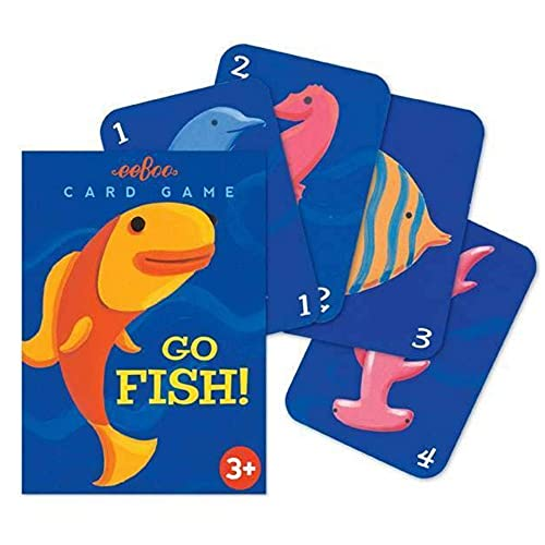 eeBoo Color Go Fish Card Game for Kids