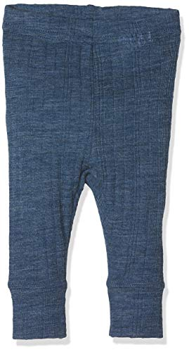 NAME IT Baby-Jungen NBMWANG Wool Needle LONGJOHN NOOS Leggings, Blau (Ensign Blue), 56