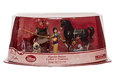 Mulan Disney Collection Figure Play Set - Five Pieces