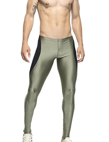 TAUWELL 6121 - Pantaloncini da fitness, da uomo, taglia XL (86-91 cm)