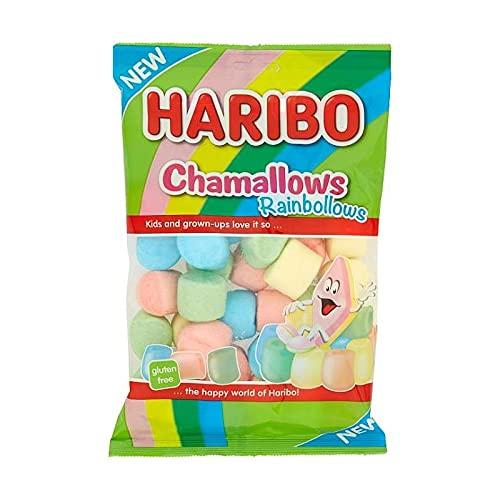 Haribo Chamallows Rainbollows - party feste candy - confezioni da 175gr (12 confezioni)