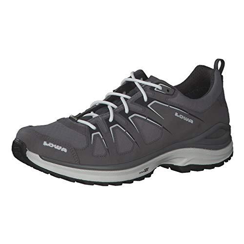 Lowa Innox EVO GTX LO Unisex Wanderschuh Trekking Outdoor Goretex 310611 grau, Schuhgröße:44.5 EU
