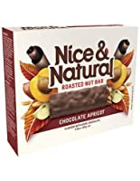 素敵で自然なアプリコットチョコレートナッツバー180gm x 8