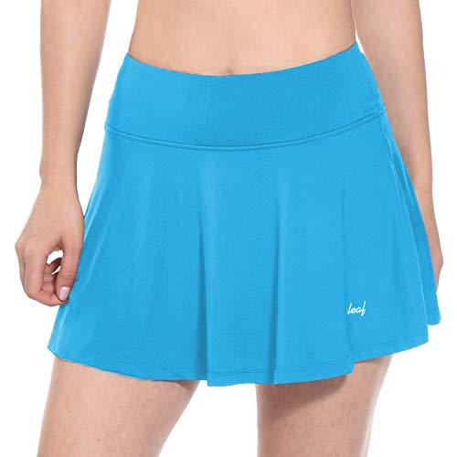 BALEAF Women's Athletic Skort Performance Lightweight Skirt North Carolina Blue Size XS