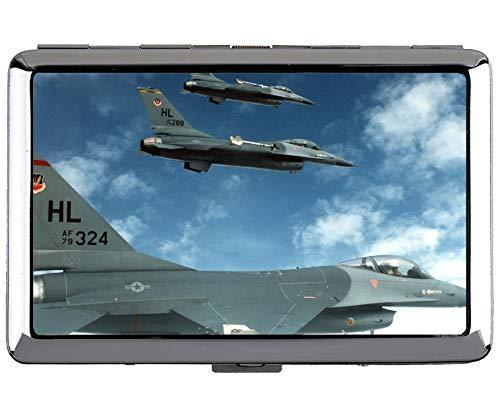 Zigarettenetui / -schachtel, professioneller Visitenkartenetui für Kampfflugzeuge