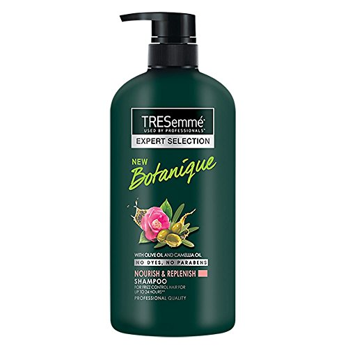 Tresemme Nourish & Replenish Shampoo, With Olive Oil And Camellia Oil, No Dyes No Parabens, Control Frizz For Upto 24Hrs, 580 ml