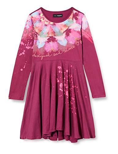 Desigual Girls Vest_Nogales Casual Dress, Red, 9/10