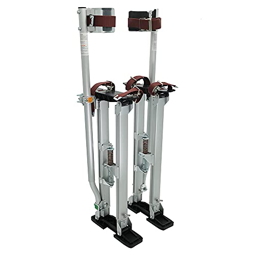 IN WHICH BAY Drywall Stilts Walking Taping Professional Silver 24