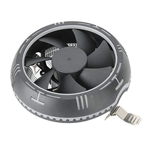 Junlucki Disipador de Calor de CPU de computadora, disipadores de Calor súper 2000 RPM Ventilador de refrigeración de CPU de computadora, Duradero para reemplazo de computadora