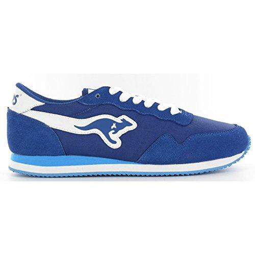 KangaROOS Unisex Invader Sneaker (36 EU/3 UK) (Königsblau)