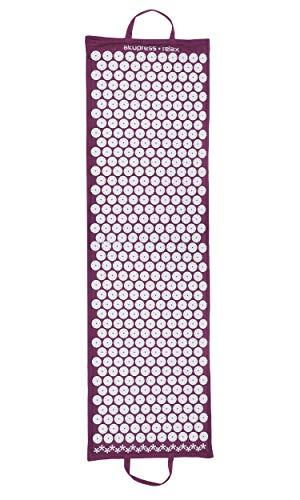 Yogistar akupress Relax Estera de acupresión, XXL, Color Orchid Purple, tamaño XX-Large, 1.2, 142 x 43 x 4centimeters