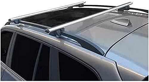 2 Stück Aluminium Dachträger Crossbar...