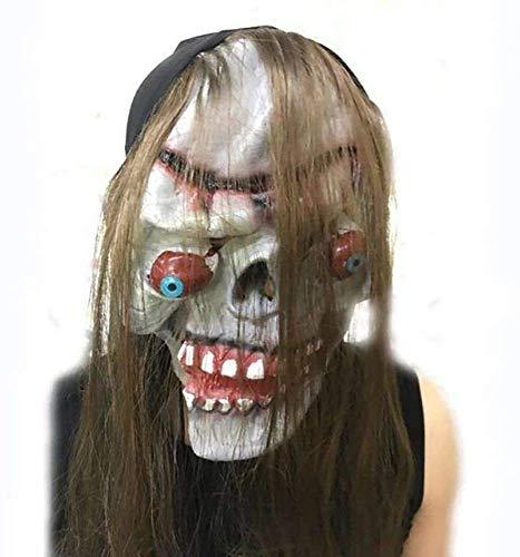 KQBAM Máscara De Horror De Halloween Máscara De Payaso Máscara De Payaso De Terror Máscara De Payaso Máscara De Payaso Accesorios De Disfraces De Halloween Cosplay, C, Se Envía Desde, A