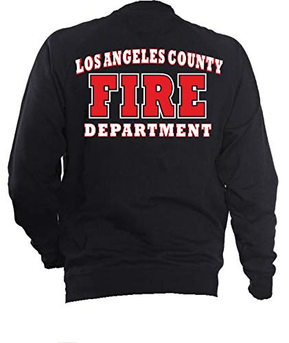 feuer1 Veste de survêtement Navy, Los Angeles County Fire Department Blanc/rouge XL bleu marine