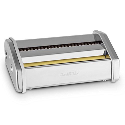 KLARSTEIN Siena Pasta Accesorios de fijación Pasta de 3 mm y 45 mm (Recambio para laminar Masa Fresca Siena Pasta Maker, Acero Inoxidable)