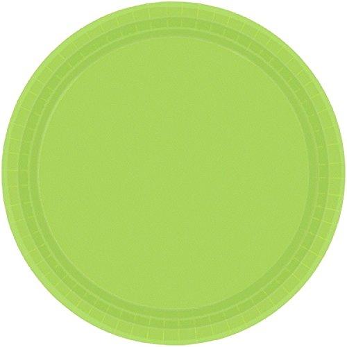 Amscan Internazionale 17,7 centimetri piatto S/C (kiwi verde)