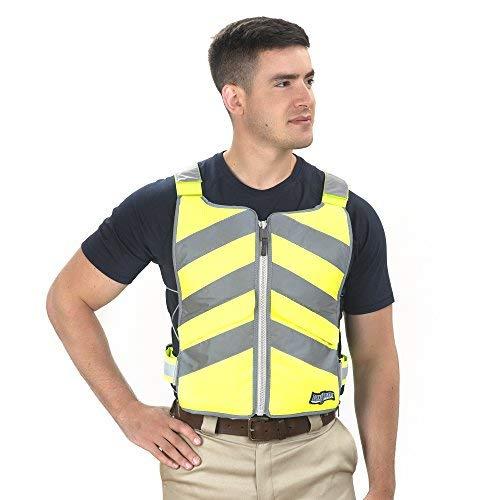 FlexiFreeze Professional Series Ice Vest - Hi-Vis Yellow