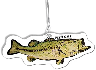 Fish On! Air Freshener (Largemouth)