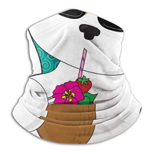 AEMAPE Calentador de Cuello: Tubo de Polaina para el Cuello, Calentador de Orejas, Diadema, Lindo Cachorro, Silla de césped Relajante, Bufanda para Disfrutar de la versatilidad