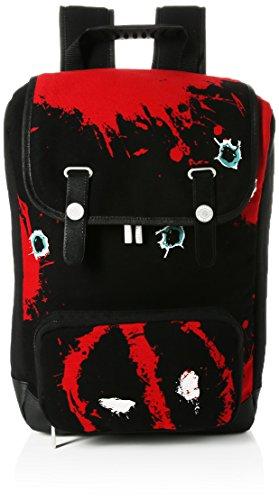 Marvel Deadpool Twelve Bullets Canvas Backpack Rucksack 45 Centimeters Rot (Red)