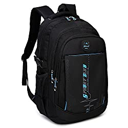 small Goldweizen School Backpack School Backpack Casual Shoulder Backpack Travel Backpack for Teenage Boys