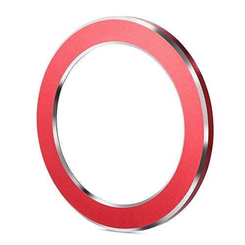 SHOP YJX 1pcs Car Styling Engine Start Stop Tire de Encendido Caja de Accesorios de Llavero para Renault Koleos Kadjar Pegatina Captural Capacidad de Coche (Color : Red)