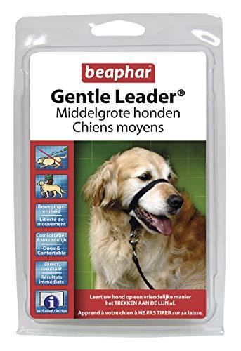 beaphar Gentle Leader/Kopfhalfter Schwarz mittel (Cocker, Collie)