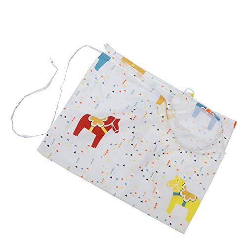 SUPVOX Cubierta de enfermería para bebés protección de Lactancia para patrón de Caballo mecedor toldo de Asiento de Coche de bebé para Regalos de Baby Shower Mujeres al Aire Libre