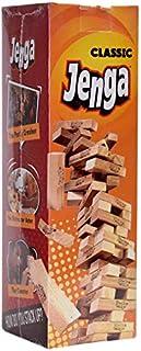 Jenga Classic Pull Stack Crash - Wood Mdf 48 Pieces