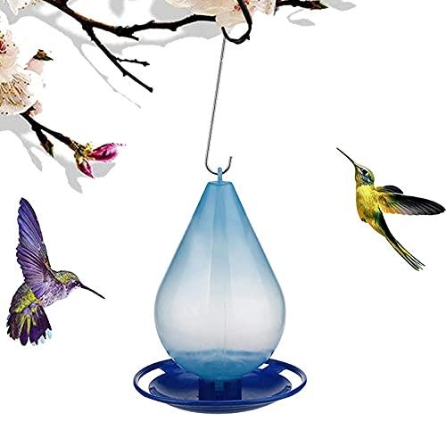 Hummingbird Feeders for Outdoors,Morning Glory Hummingbird Feeder,Upside Down Hummingbird Nectar Capacity Pet Supplies,Enjoy Birdwatching on Your Yard