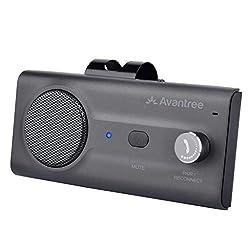 【CONVERSATIONS CLAIRES】Avec CSR Bluetooth 5.0 avancé et une puissance de 2W, sa réduction de bruit / écho et des commandes de volume, le CK11 vous permet de passer des appels clairs, peu importe le lieu! 【CONDUITE SÛRE】En utilisant Siri ou l'assistan...