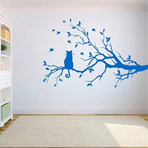 Dormitorio árbol árbol de la vida árbol pared árbol yoga decoración del hogar en gato