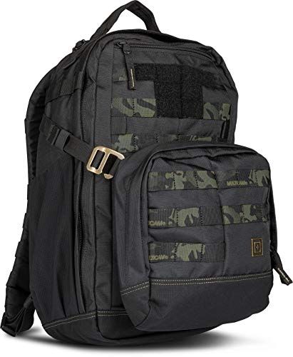 5.11 Tactical Series Mira Backpack 20L Sac à Dos Loisir, 46 cm, 20 litres, Stealth Black