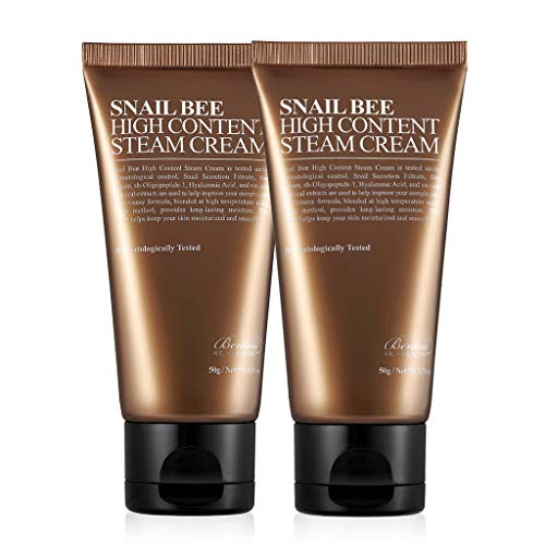 BENTON 2 Pack Snail Bee High Content Steam Cream 50g (1.76 oz.)