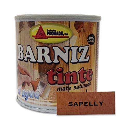 PROMADE - Barniz tinte satinado agua 375 ml Sapelly