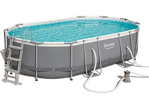 Bestway Power Steel - Piscina para exteriores