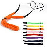 Keador Sunglasses Straps, 8 Pack Safety Floating Eyewear Retainers, Sports Colorful Eyeglass Retainer Holder for Your Sunglasses, Eyeglasses, or Prescription Glasses (8 color)
