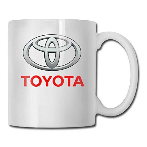 Kaffeebecher Kaffeetasse Toyo-ta Logo Kaffee und Trinkbecher Lustige Keramikbecher-Muttertag, Familiengeschenke 11oz