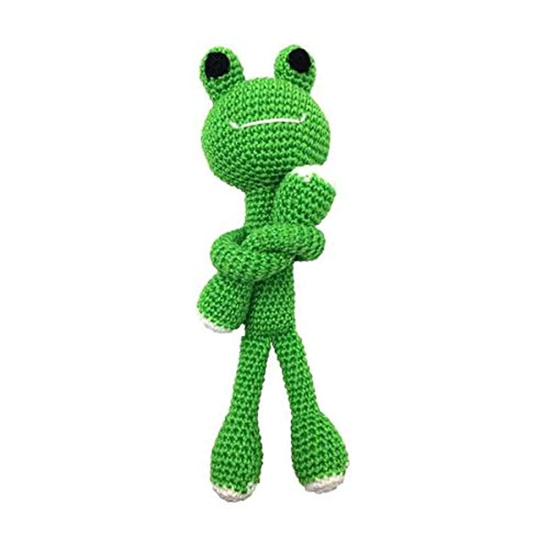 Darn Good Yarn Craft Amigurumi Crochet Starter Kit with Yarn - DIY Knitting Kit for Beginners - Frog Knit and Crochet Pattern