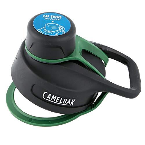 CAMELBAK Unisex– Erwachsene Ersatzdeckel für Chute Vacuum Insulated Flaschen, grün, One Size