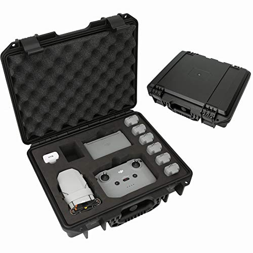 Waterproof Case for DJI Mini 2-Professional Hard Shell Carrying Storage Case Compatible with DJI Mini 2 Full Set Fly More Combo and Drone Accessories