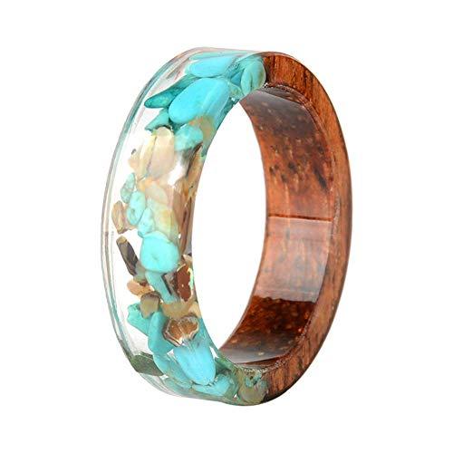 Vektenxi Fingerringe Elegante Ringe Unisex Schmuck Harz Ring Handgemachter Ring Kreative Ringe Langlebig und praktisch